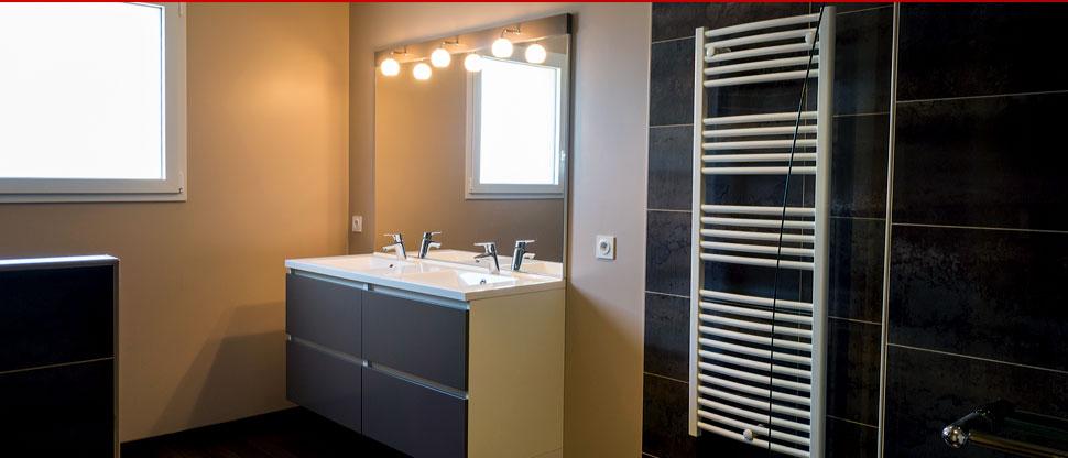 Plomberie : installation de salle de bain